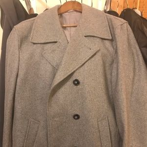 Calvin Klein Slim-fit Double breasted peacoat